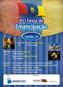Emancipao Poltica 2013 - Cartaz