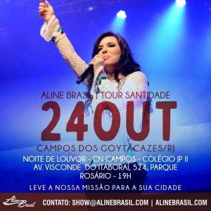 Aline Brasil 24-10- Campos dos goytacazes