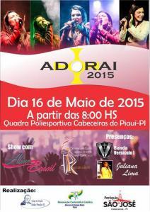 Aline Brasil Adorai 2015