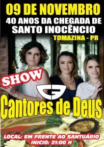 Cantores de Deus em Tomazina - PR
