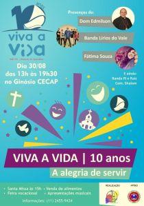 Fatima dia 3008 em Guarulhos