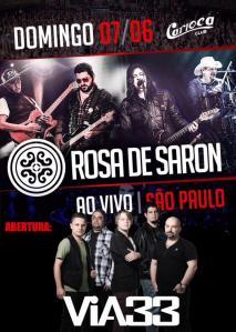 Rosa de Saron e Via 33